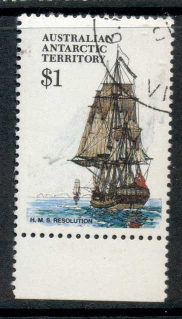 AAT 1974-81 Pictorial, Ship $1 FU