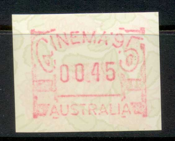 Australia 1995 Cinema FRAMS 45c MUH