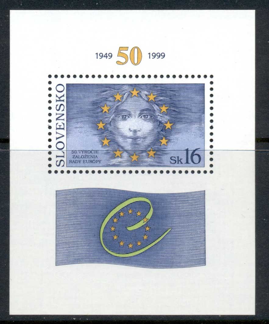 Slovakia 1999 Council of Europe MS MUH
