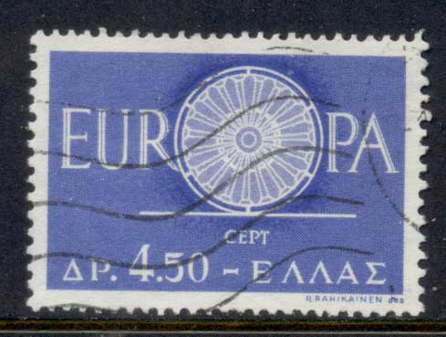 Greece 1960 Europa FU
