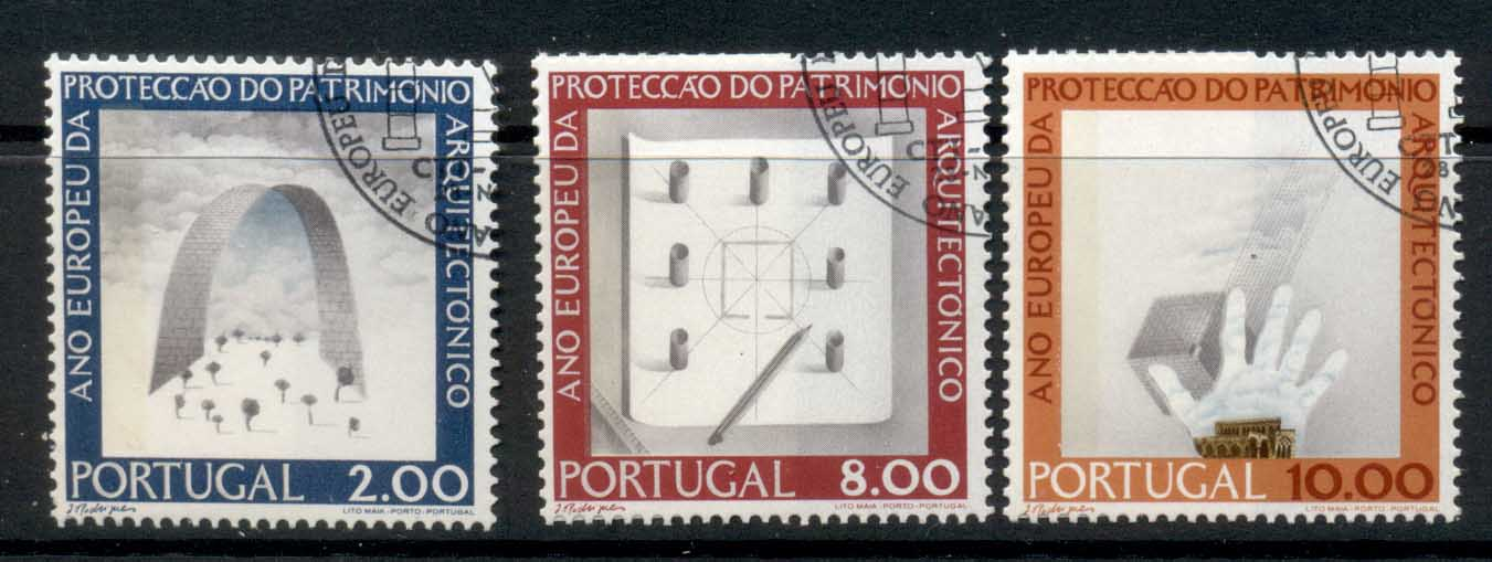 Portugal 1975 European Architectural heritage year CTO