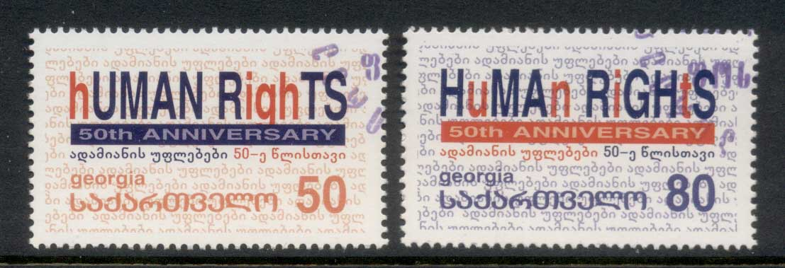 Georgia 2000 Human Rights in Europe CTO