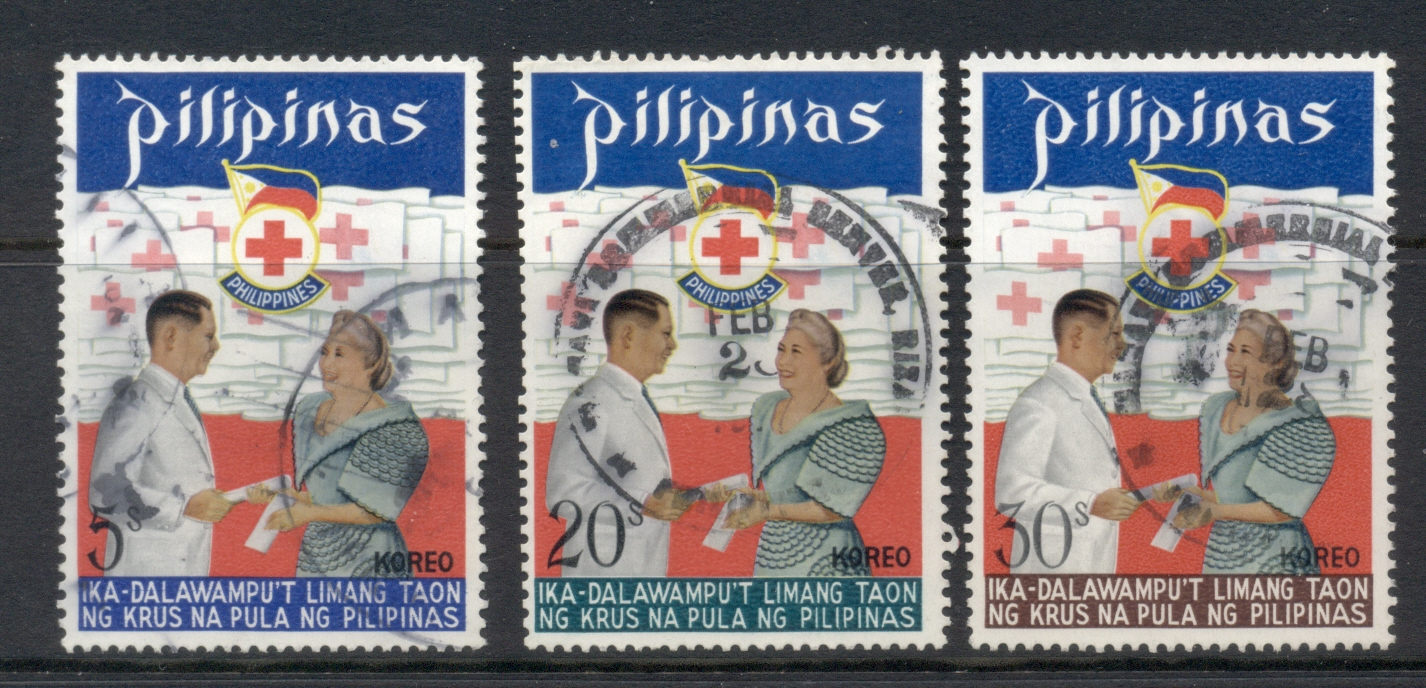 Philippines 1972 Red Cross FU