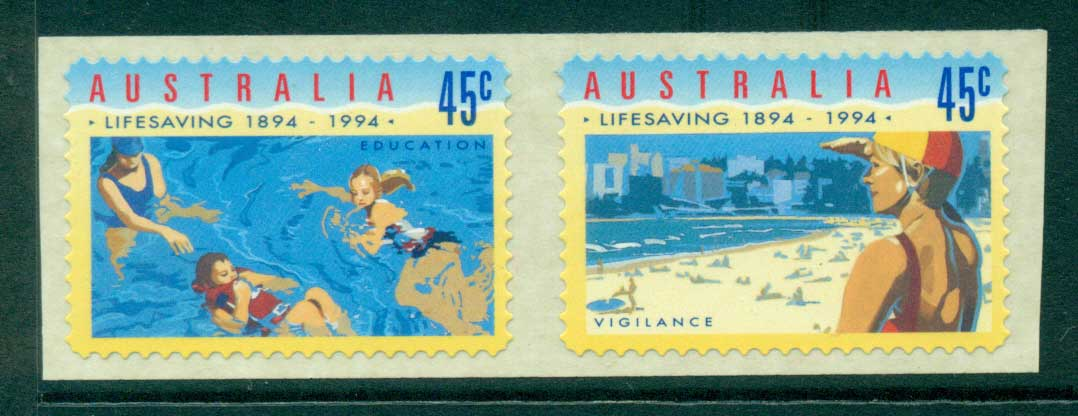Australia 1994 Surf Life Saving P&S pr MUH Lot29727