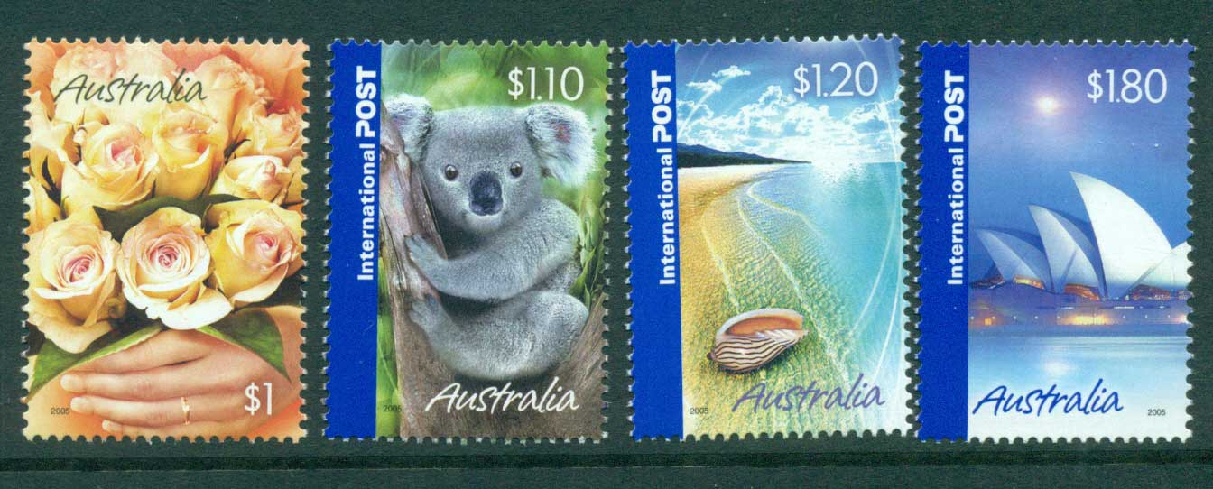 Australia 2005 Marking the Occasion, $1 + Internationals MUH Lot29815