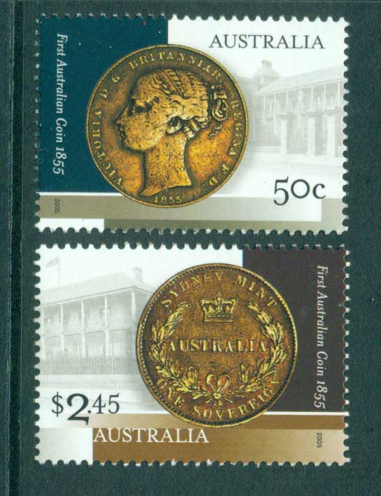 Australia 2005 First Australian Coin MUH Lot29819