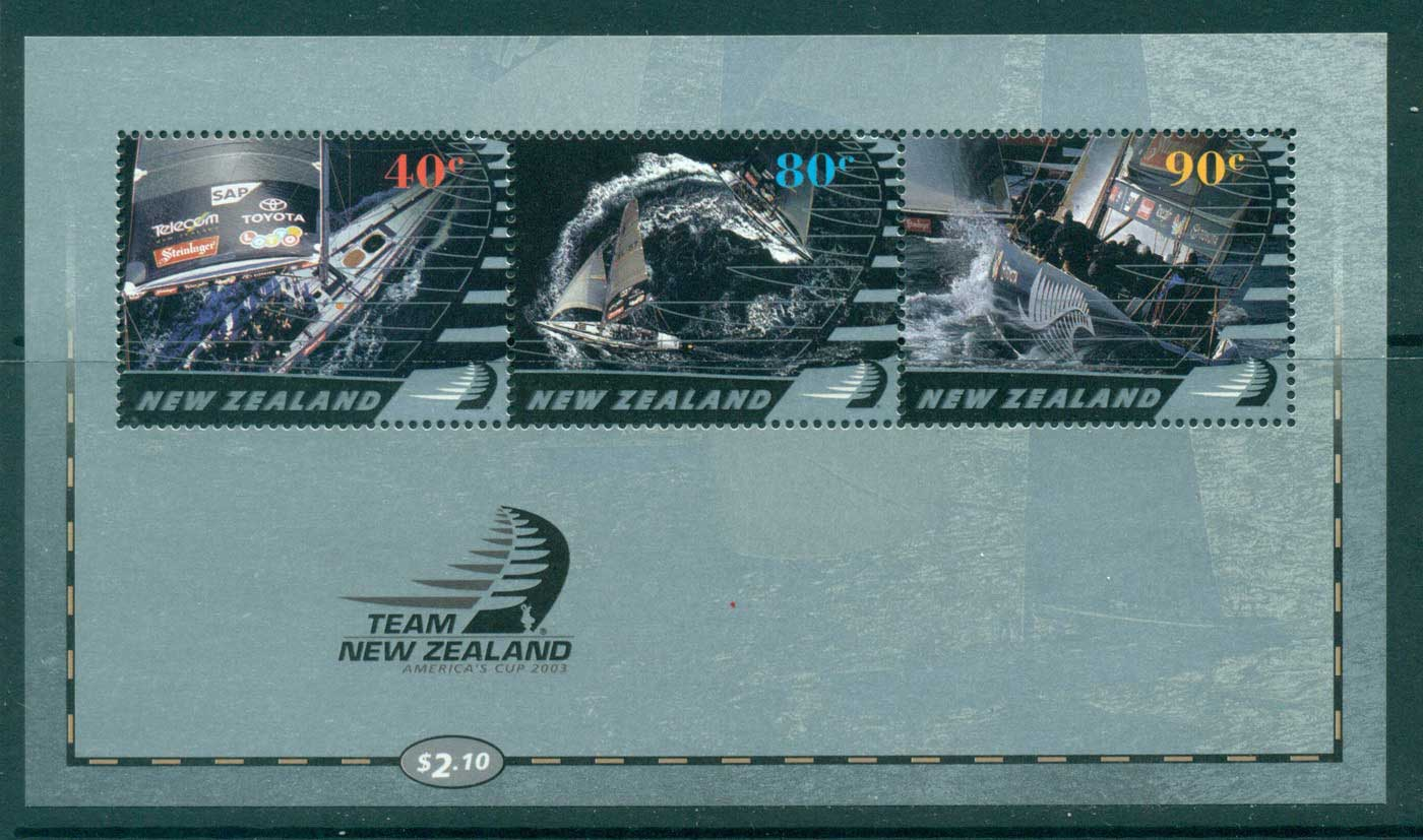 New Zealand 2003 Team NZ Yachting MS MUH Lot29881