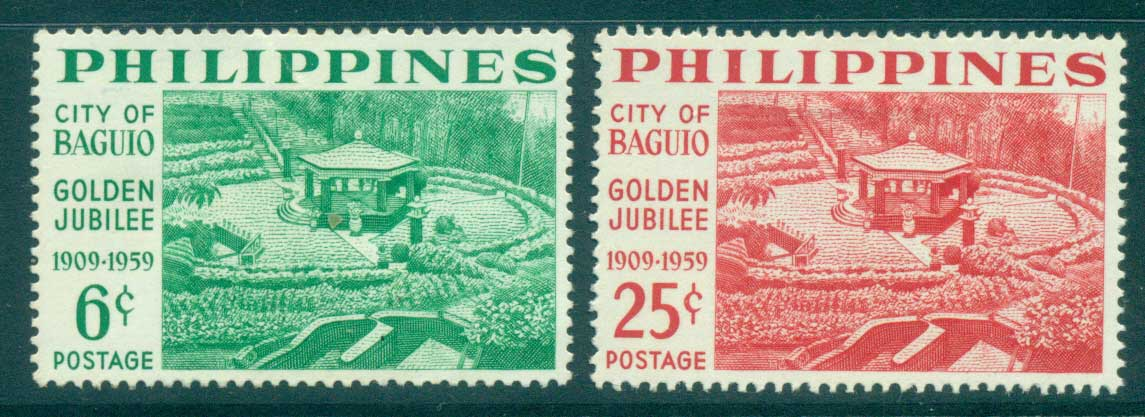 Philippines 1959 City of Baguan MH lot31673