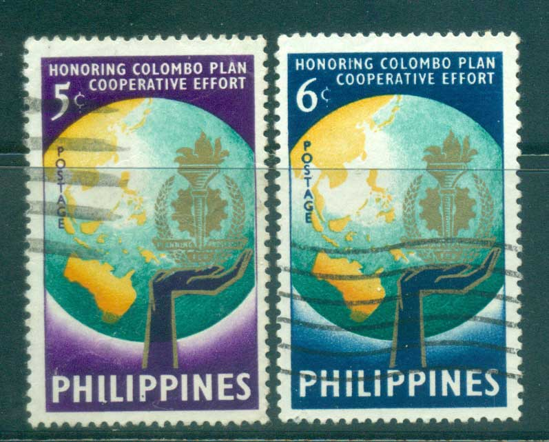 Philippines 1961 Colombo Plan FU lot31681