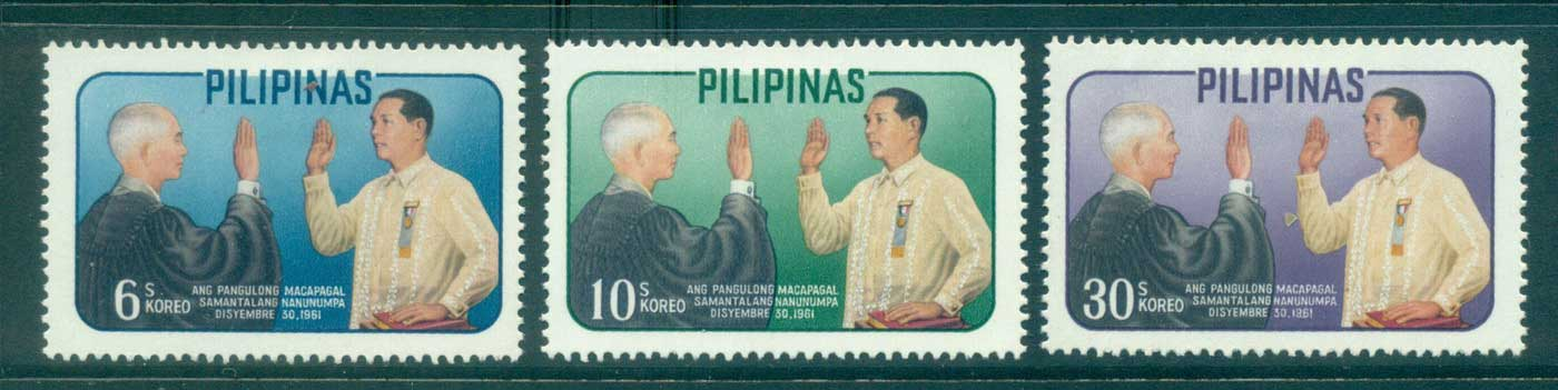 Philippines 1962 Pres. Macapagal MLH lot31683