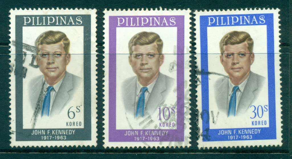 Philippines 1965 JF Kennedy FU lot31692