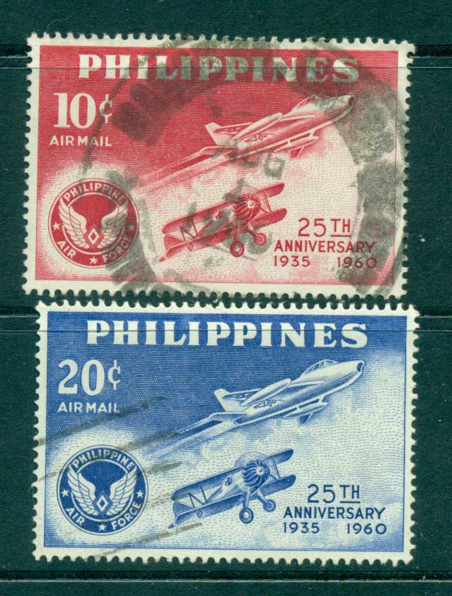 Philippines 1960 Air Force Airmail FU lot31736
