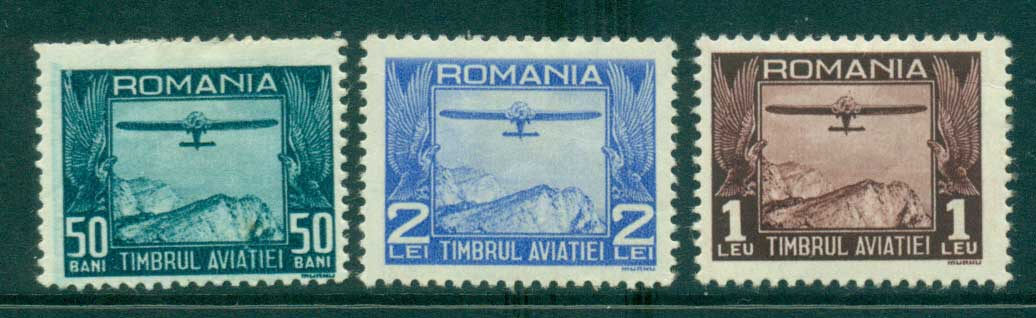 Romania 1931 Aviation Fund MH lot34774
