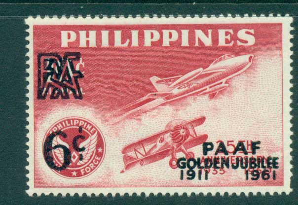 Philippines 1961 Philippine Amateur Athletic Field Opt MLH lot34826