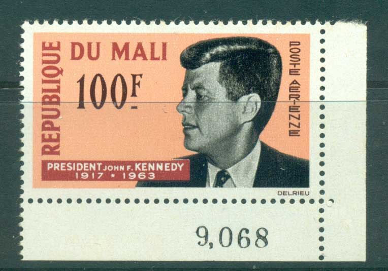 Mali 1964 Kennedy MUH lot41674