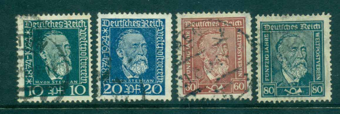 Germany Reich 1924 Heinrich von Stephan FU lot43723