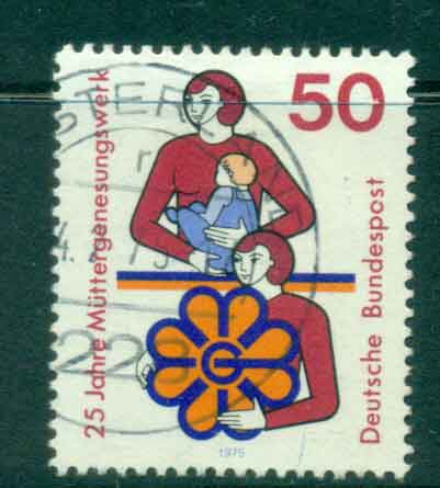 Germany 1975 Convalscent Mothers FU lot44230