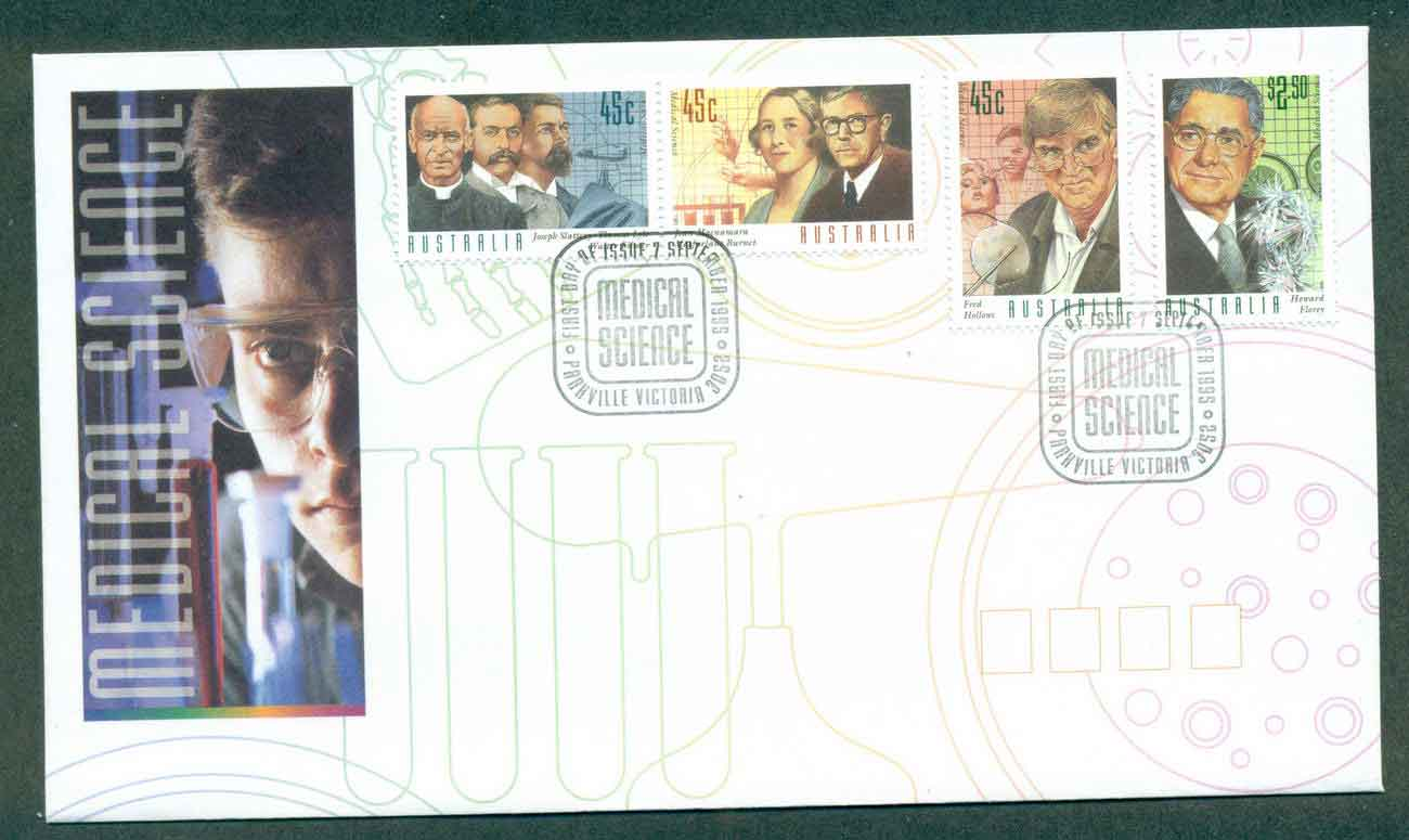 Australia 1995 Medical Science, Parkville FDC lot51175
