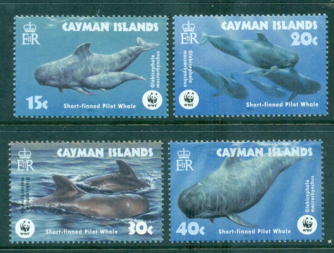 Cayman Is 2003 WWF Short Finned Pilot Whale MUH lot76165