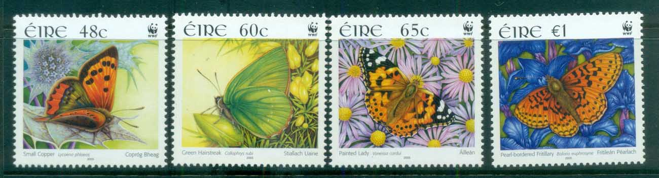 Ireland 2005 WWF Butterflies of Ireland MUH lot76190