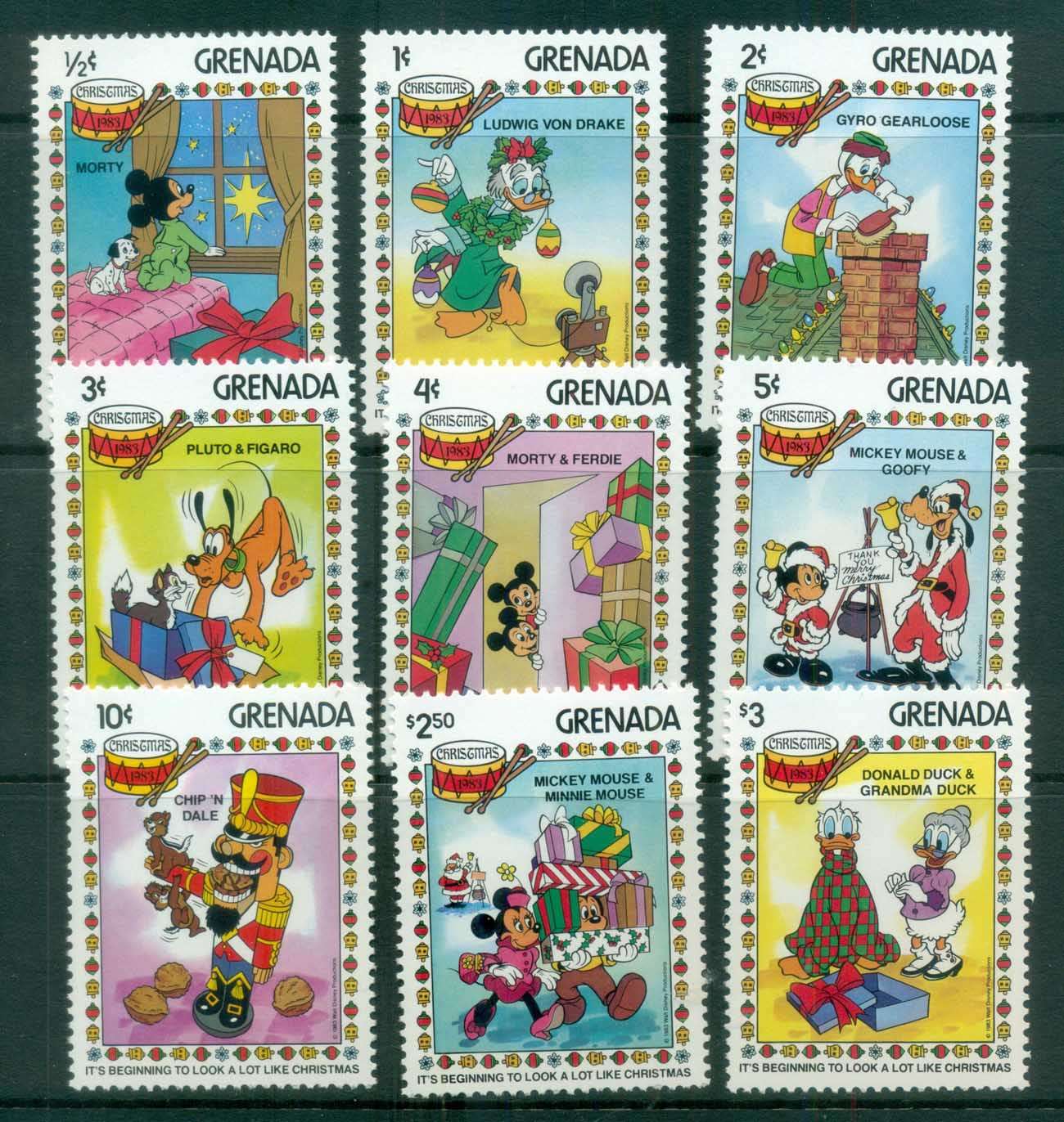 Grenada 1983 Disney, It's beginning to look a lot like Xmas MUH lot79012