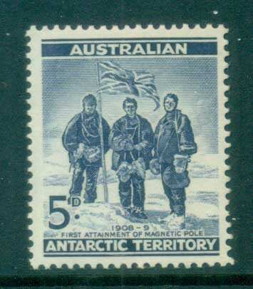 AAT 1961 South Pole Expedition 5d blue MUH lot79049