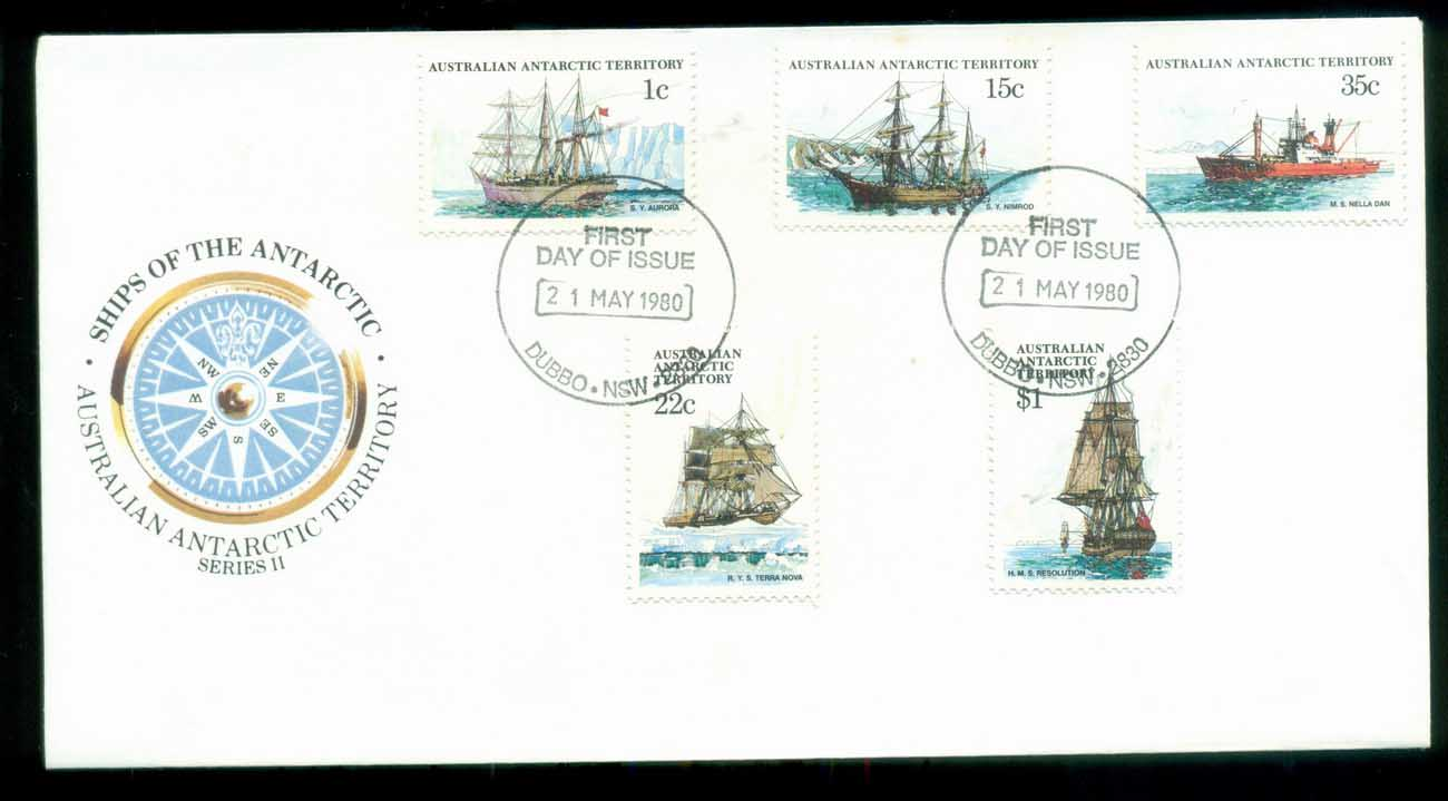 AAT 1980 Ships I, Dubbo NSW FDC lot79719