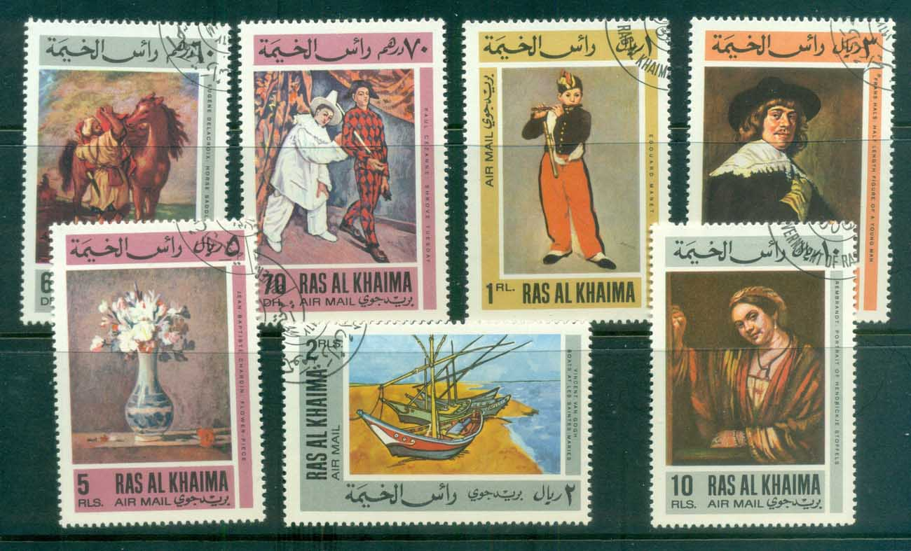Ras Al Khaima 1967 European Paintings CTO