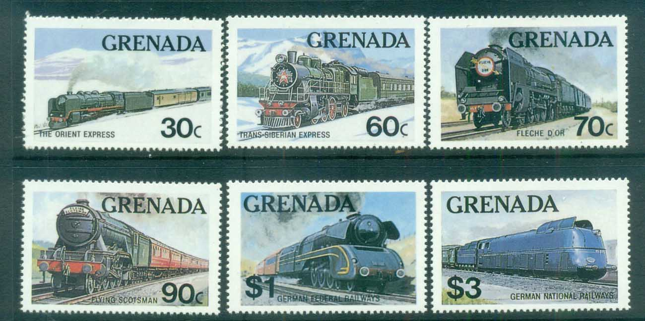 Grenada 1982 Trains MUH