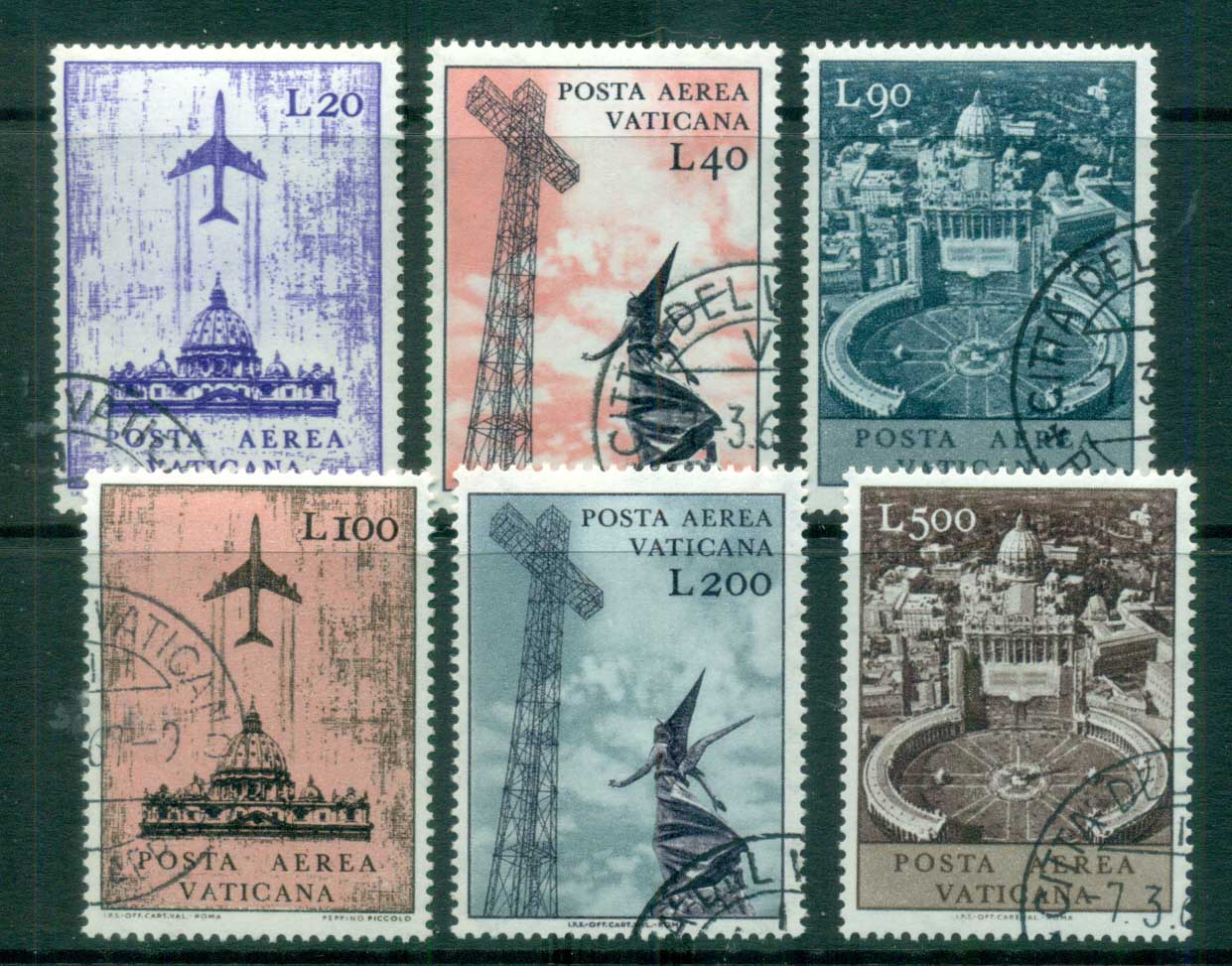 Vatican 1967 Air Post CTO