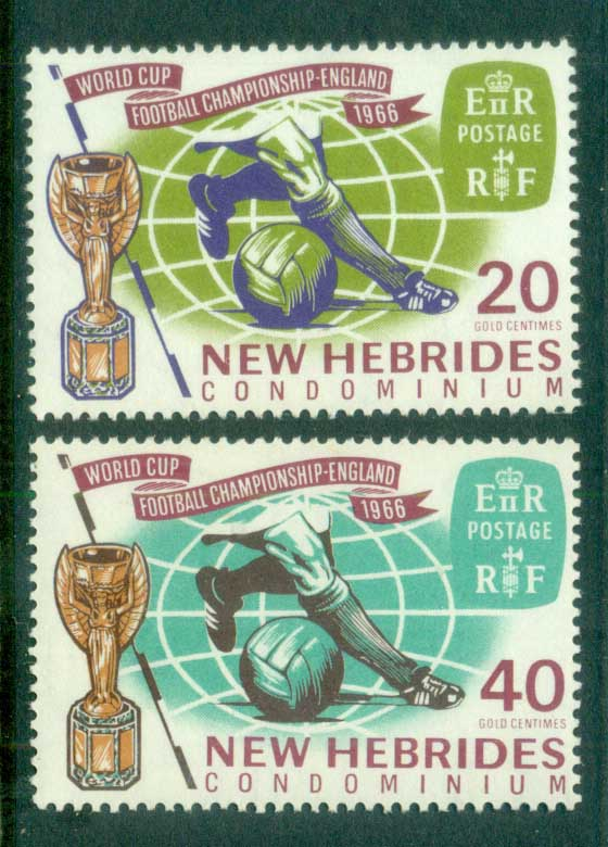 New Hebrides (Br) 1966 World Cup Soccer MUH