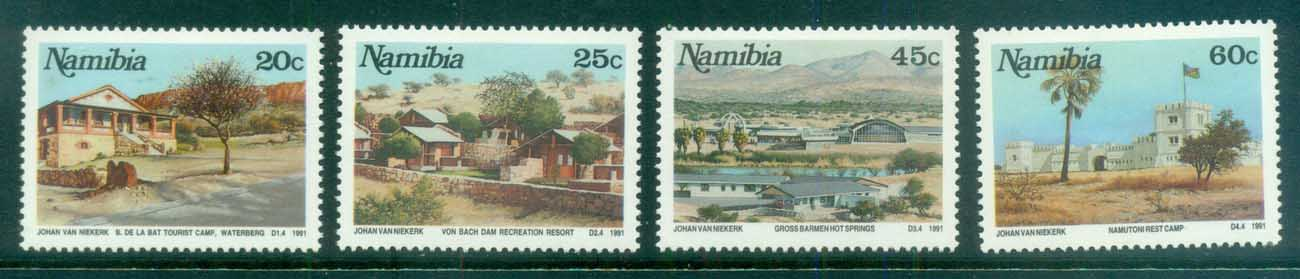 Namibia 1991 Tourist Camps MLH