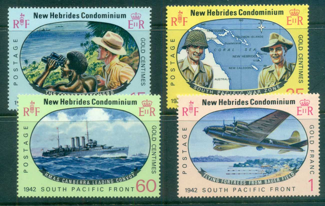 New Hebrides (Br) 1967 Allied Forces South Pacific Campaign WWII MLH