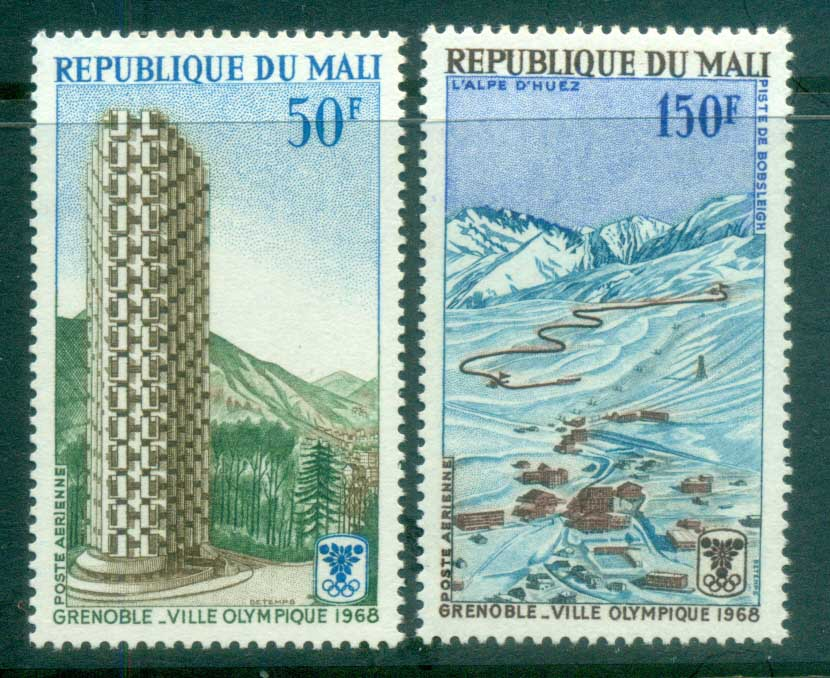 Mali 1968 Winter Olympics, Grenoble MUH