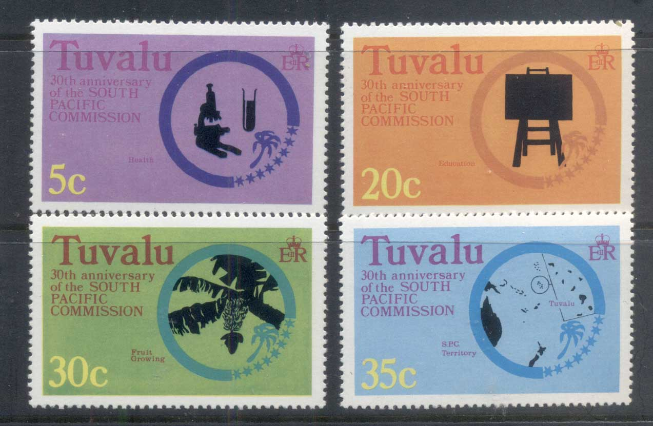 Tuvalu 1977 South Pacific Commission MUH
