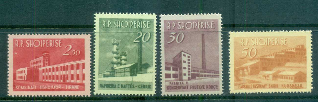 Albania 1963 Industrial Development MUH lot69484
