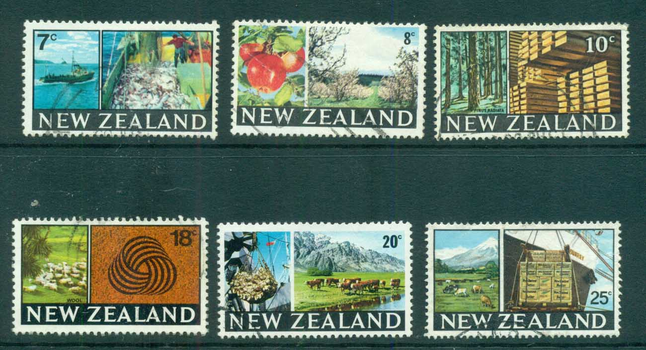 New Zealand 1968-69 Exports FU lot71601