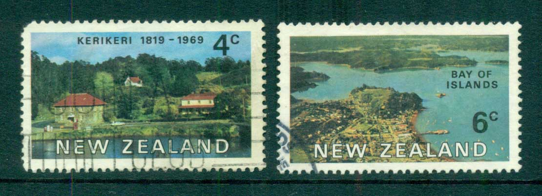 New Zealand 1969 European Settlements FU lot71603