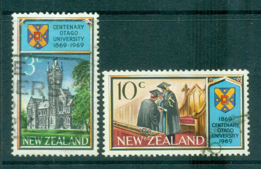 New Zealand 1969 University of Otago FU lot71691