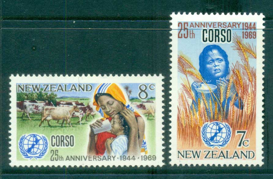 New Zealand 1969 CORSO MLH lot71697