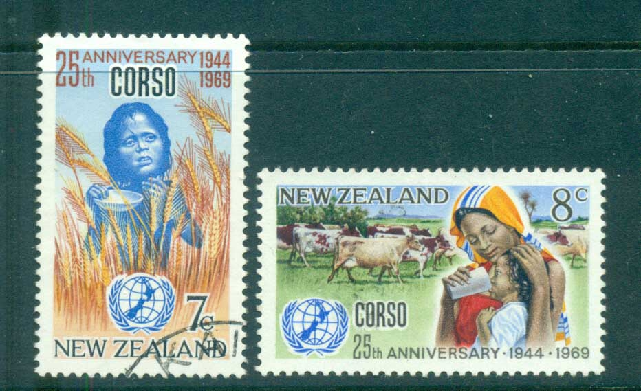 New Zealand 1969 CORSO FU lot71698