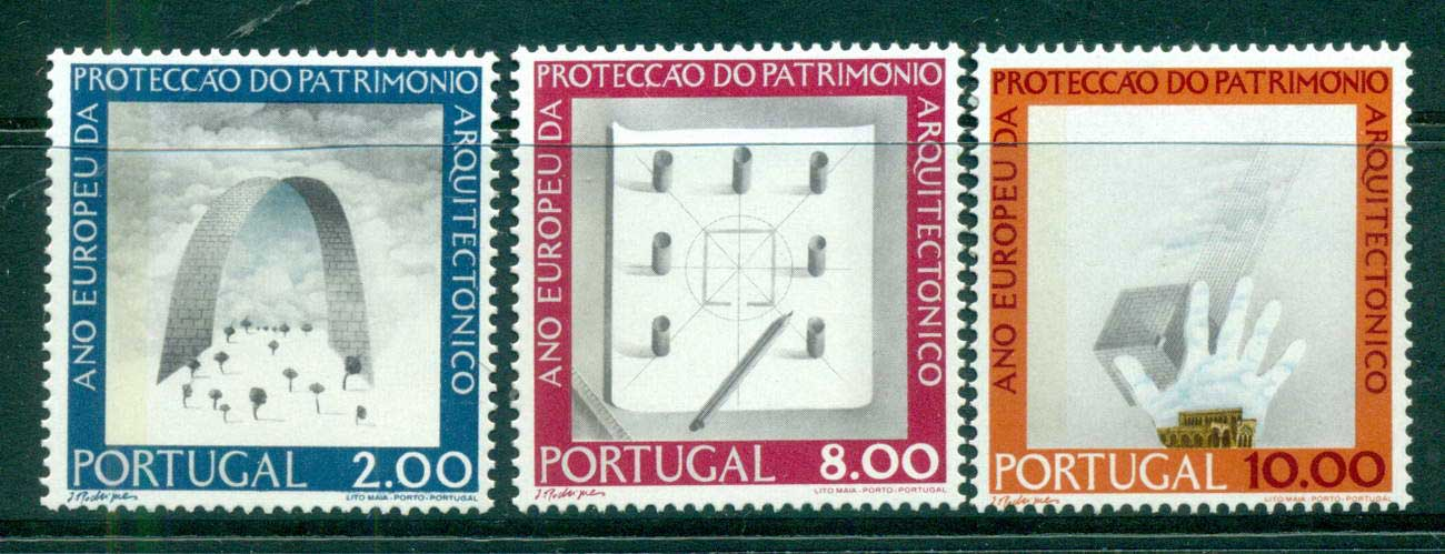Portugal 1975 Architectural heritage year MUH lot58723
