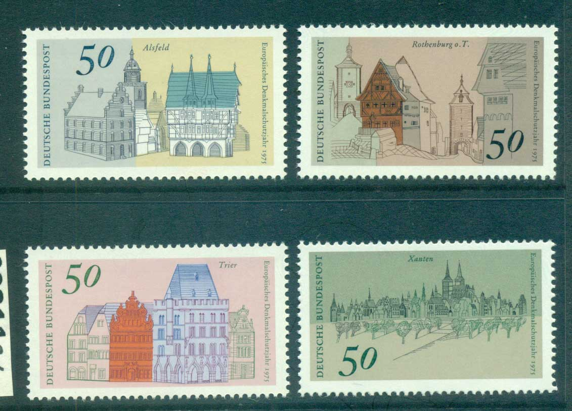 Germany 1975 Architectural Heritage Year MUH lot60211