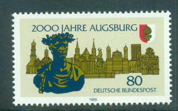 Germany 1985 Augsbrg 2000th Anniv. MUH lot60701
