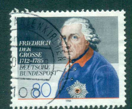 Germany 1986 King Frederick the Great FU lot60750