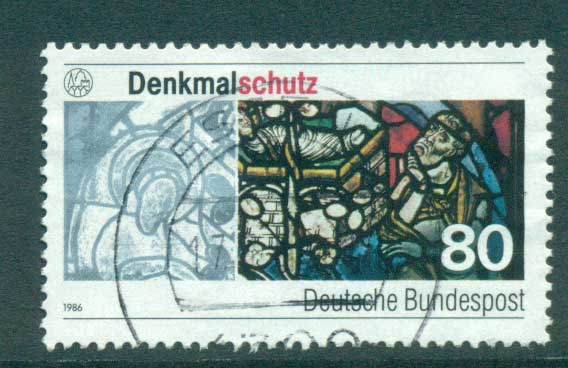 Germany 1986 Augsburg Cathederal Window FU lot60762