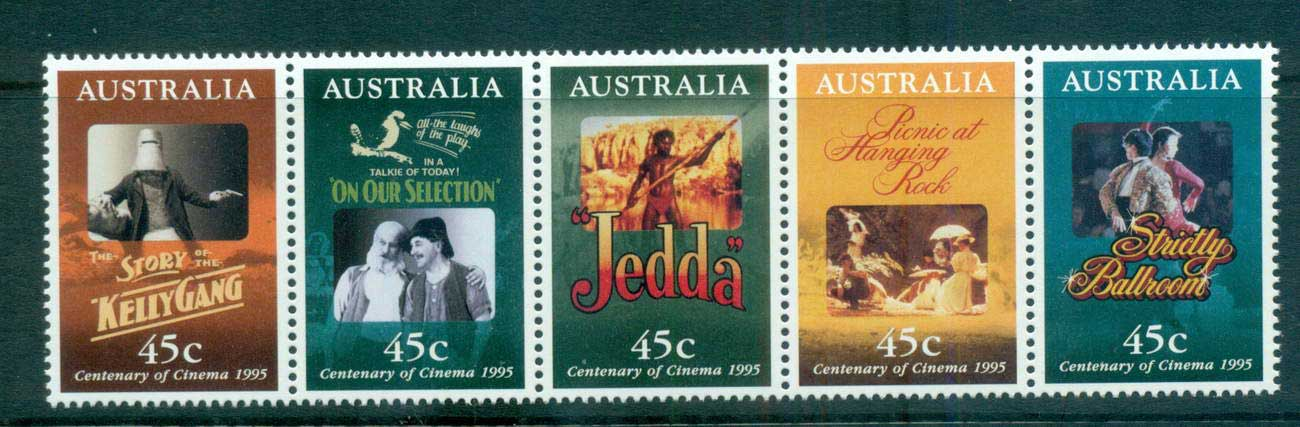 Australia 1995 Cinema Str 5 MUH lot63500