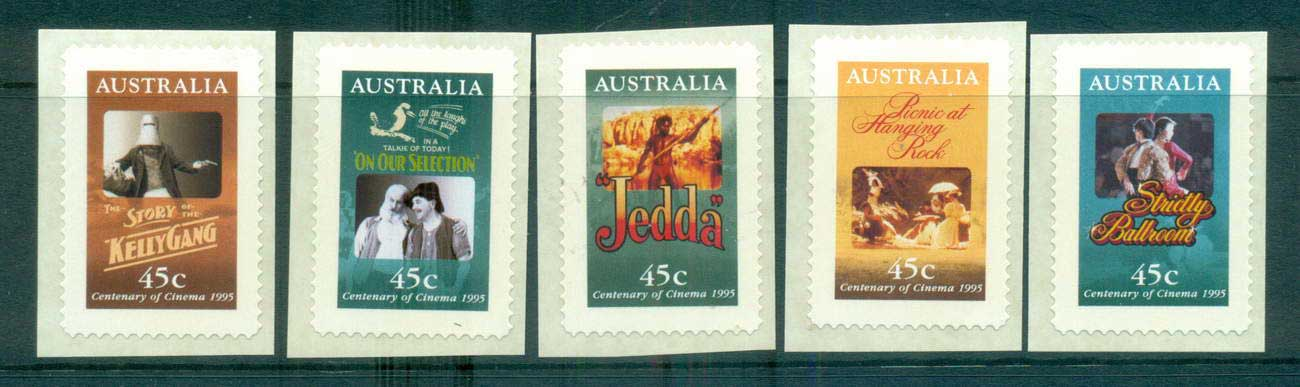Australia 1995 Cinema P&S MUH lot63501