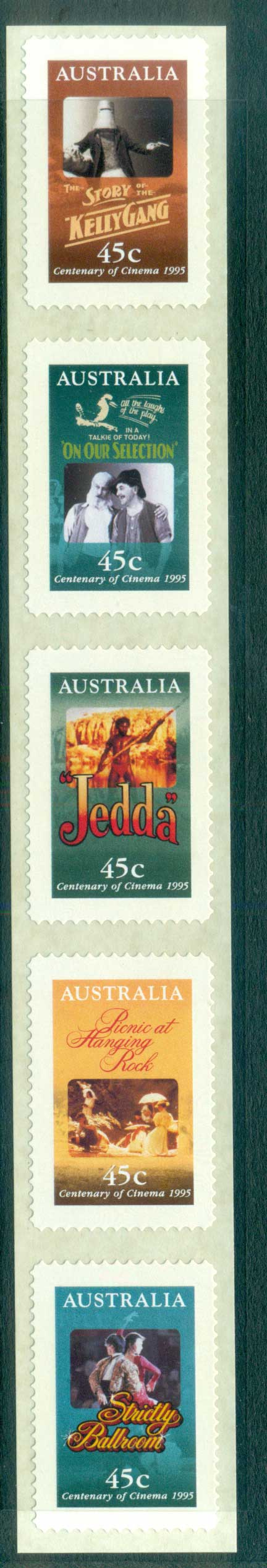 Australia 1995 Cinema Str 5 P&S MUH lot63502