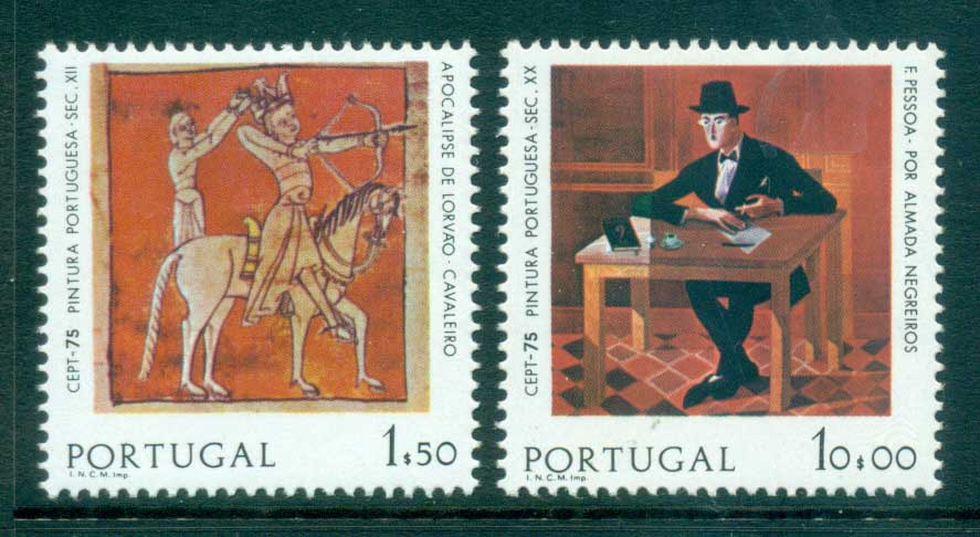 Portugal 1975 Europa, Paintings MUH lot65613